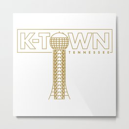 K-Town Tennessee (Sunsphere) Metal Print