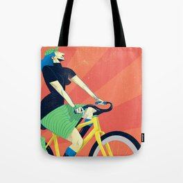 Summer Riding Tote Bag