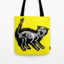 The Purrfect Scare Tote Bag