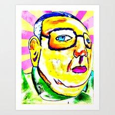 Kim Jong Il has Pretty Lips Art Print