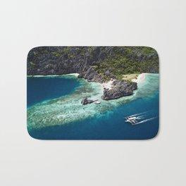 Island hopping around the Philippine Islands Bath Mat