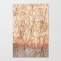 ombre Canvas Prints featuring Ombre  by Yaara Ben-Dor