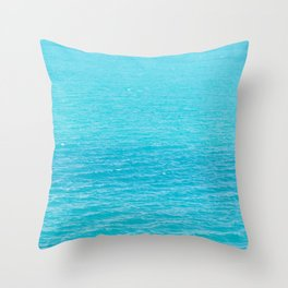 Sea's surface Throw Pillow