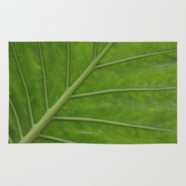 Elephant Ear Leaf Rug