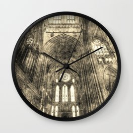 York Minster Vintage Wall Clock