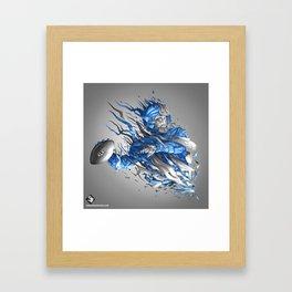 Superbowl XLVIII - Seahawks Framed Art Print