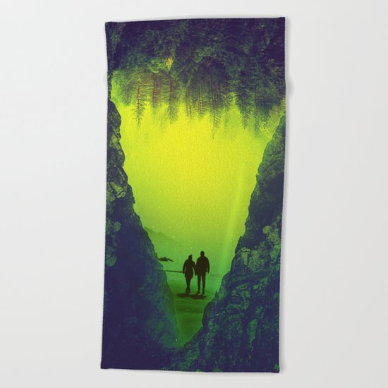 Toxic Forestry Together Beach Towel