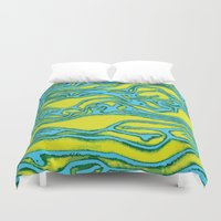 lime Duvet Covers featuring Lime by Mario Metzler
