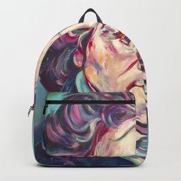 Ludwig van Beethoven, Beethoven's portrait, composer, art print, Backpack