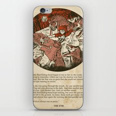 Little Red Riding Hood - Untold Ending iPhone & iPod Skin