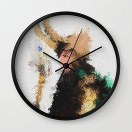 Kneel Master Wall Clock