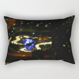 Ribbon of Ice (Chicago Architecture Society) Rectangular Pillow