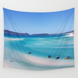 Australia Photography - Whitehaven Beach Wall Tapestry