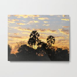 Last Sunrise in Africa Metal Print