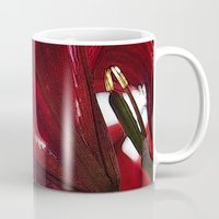 ruby Mugs featuring Ruby by Dominique Gwerder