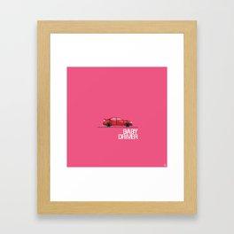 B A B Y Framed Art Print