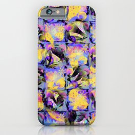 Abstract Square Pattern Art iPhone Case