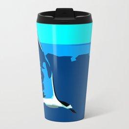Tropical Tern (Sandwich Tern) - Seychelles Metal Travel Mug