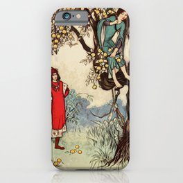 Looking for love iPhone Case
