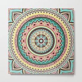 Hippie Mandala 13 Metal Print