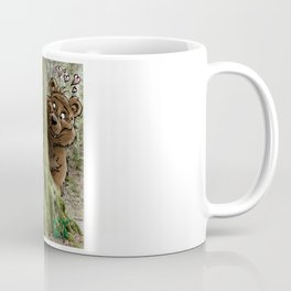 The Cat and the Bear loving couple Coffee Mug