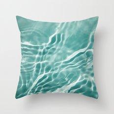 Water 4 Throw Pillow