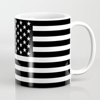 flag Mugs featuring Flag by loveme