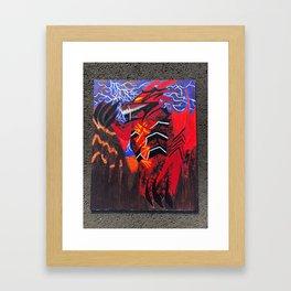 Valyrian Legend Framed Art Print