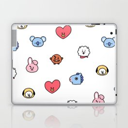 BT21 Sketched Pattern Laptop & iPad Skin
