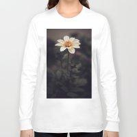 italian Long Sleeve T-shirts featuring Italian Flower by India Pocock