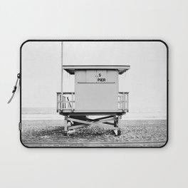 Beach Photography black and white print Laptop Sleeve