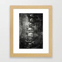 Once Were Warriors II. Framed Art Print