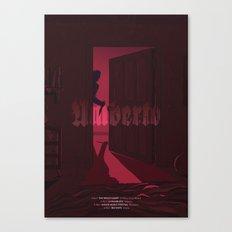 Umberto - The Horror Canvas Print