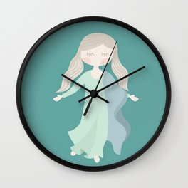 Assumption of Mary - Our Lady of the Navigators - the Feast of the Assumption Wall Clock