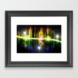 Pulse 1.0 - Pulse was born Framed Art Print