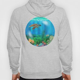 UnderSea with Turtle Hoody