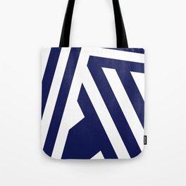 Nautical Stripes Tote Bag