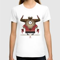 taurus T-shirts featuring TAURUS by Angelo Cerantola