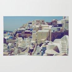 Oia, Santorini, Greece III Rug