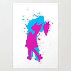 K I S S 3D Art Print