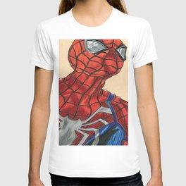 Spidey Ps4 Version T-shirt