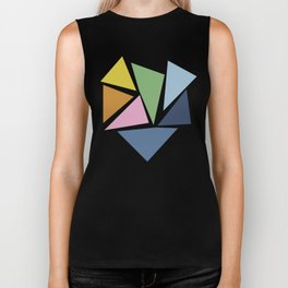 Abstraction #5 Biker Tank