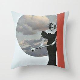 Violence Vibes Throw Pillow