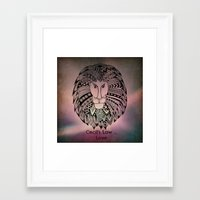 law Framed Art Prints featuring Cecil's Law by MarjolynSpiritArt