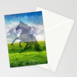 Horse fantasy Stationery Cards