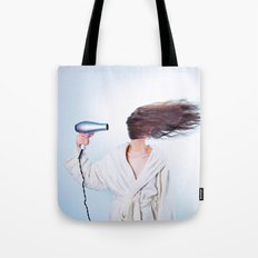 hair comic wind 4 Tote Bag