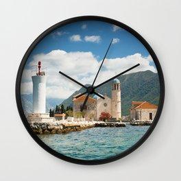 Gospa od Skrpjela Wall Clock