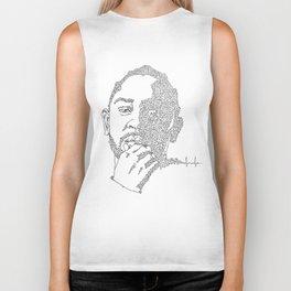 Kendrick Lamar Portrait: #blacklivesmatter Biker Tank