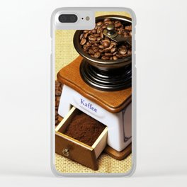 coffee grinder 3 Clear iPhone Case