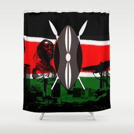Kenya Shower Curtain